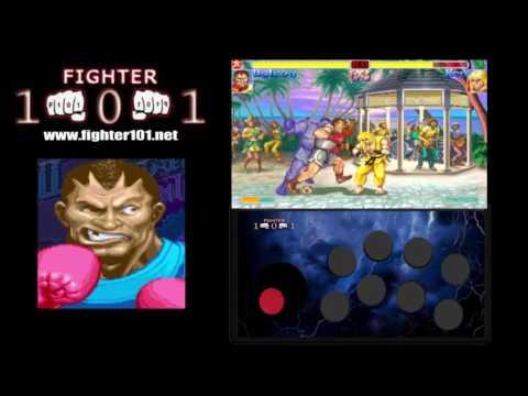 Balrog/Boxer  cr.jab Super cancels - Super Street Figher 2 Turbo