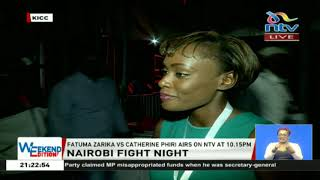 Nairobi fight night: Zarika takes on Phiri