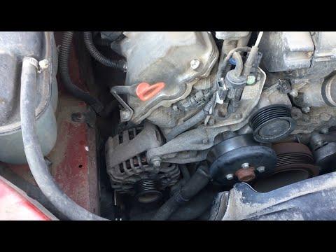 Cтук двигателя М112 М113. Помпа под замену w210 w211