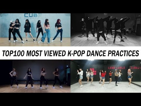 [TOP 100] MOST VIEWED K-POP DANCE PRACTICES • December 2018