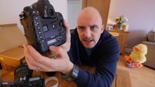 Nikon D4 : Unboxing and First impressions