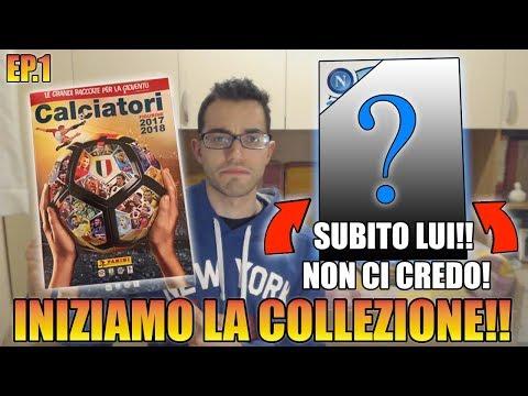 INIZIAMO LA NUOVA COLLEZIONE!! BUSTINE ED ALBUM CALCIATORI PANINI 2017 2018 #1 By Giuse360