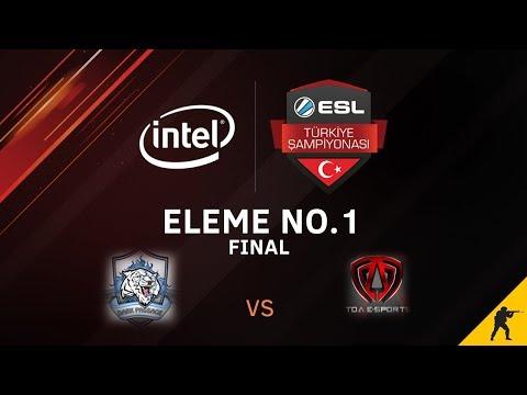 CS:GO - Dark Passage vs. TOA E-Sports I BO1 - Intel ESL Türkiye Şampiyonası 1. Hafta Elemeleri