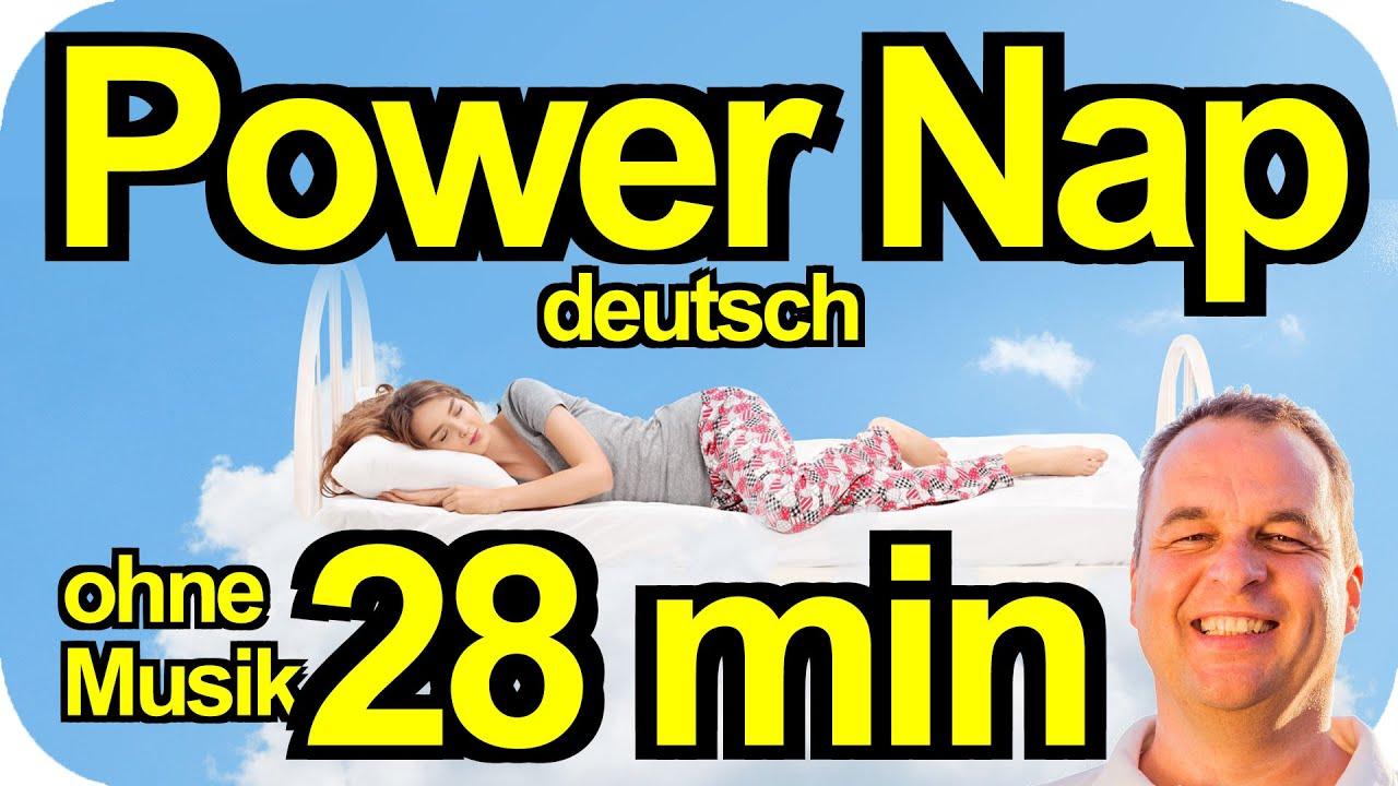 PowerNap 28 min OHNE Entspannungsmusik für Powerschlaf, Meditation Mittagspause, Power Napping