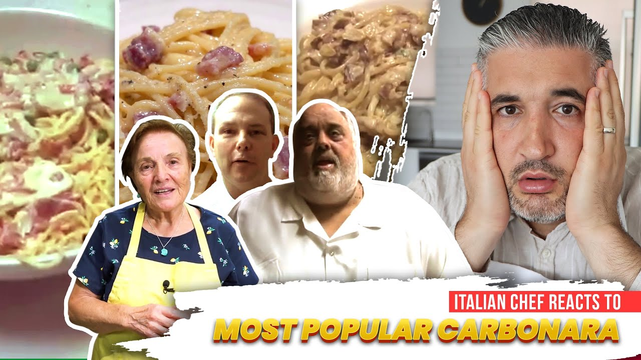 Italian Chef Reacts to Most POPULAR CARBONARA VIDEOS (Part 2)