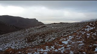 vuclip Snowfall in Saudi Arabia 2018/Snowfall in Mount Aloz/jabal al lawz/تساقط الثلوج في السعودية