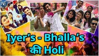देखिए कैसे Serial Yeh Hai Mohabbatein की Team ने मनाई Holi