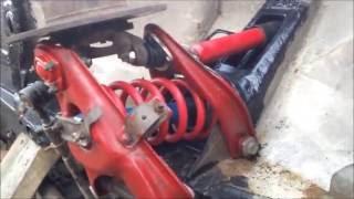 видео Ходовая часть: амортизаторы, рессоры, передняя подвеска, ступицы