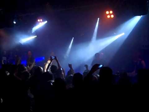 Bleeding Through - Love Lost In A Hail Of Gunfire - live in Nottingham, final UK tour