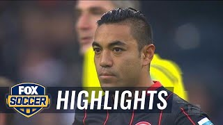 Marco Fabian makes his Eintracht Frankfurt debut | 2015–16 Bundesliga Highlights
