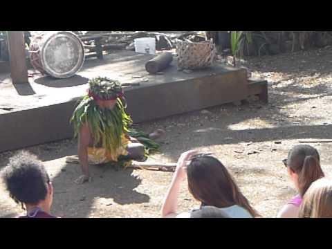 Polynesian Chief Making Fire