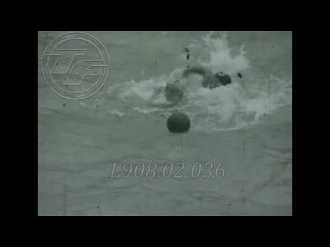 Water Polo at the 1952 Helsinki Olympic Summer Games (Amateur Footage)