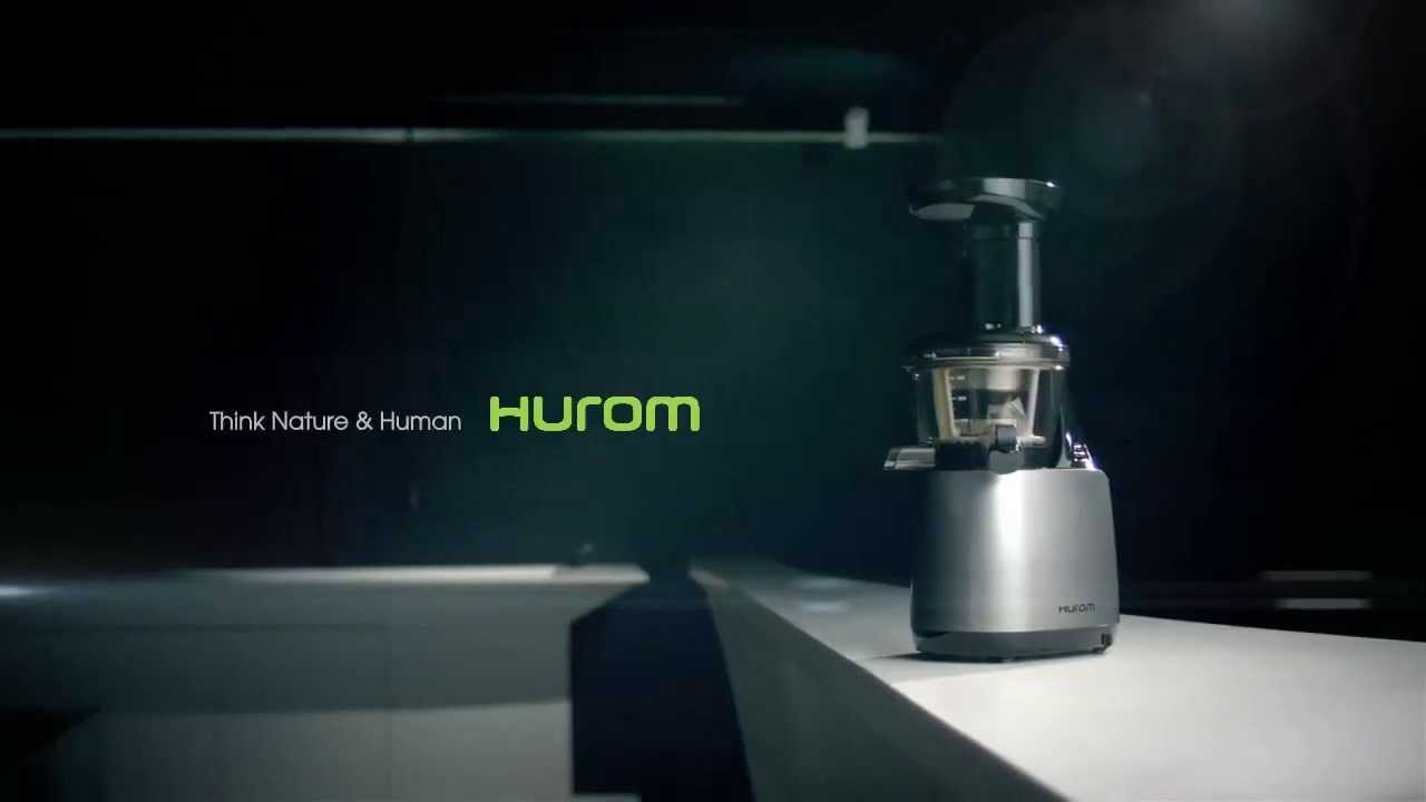 Hurom Slow Juicer HU500 HE series - YouTube