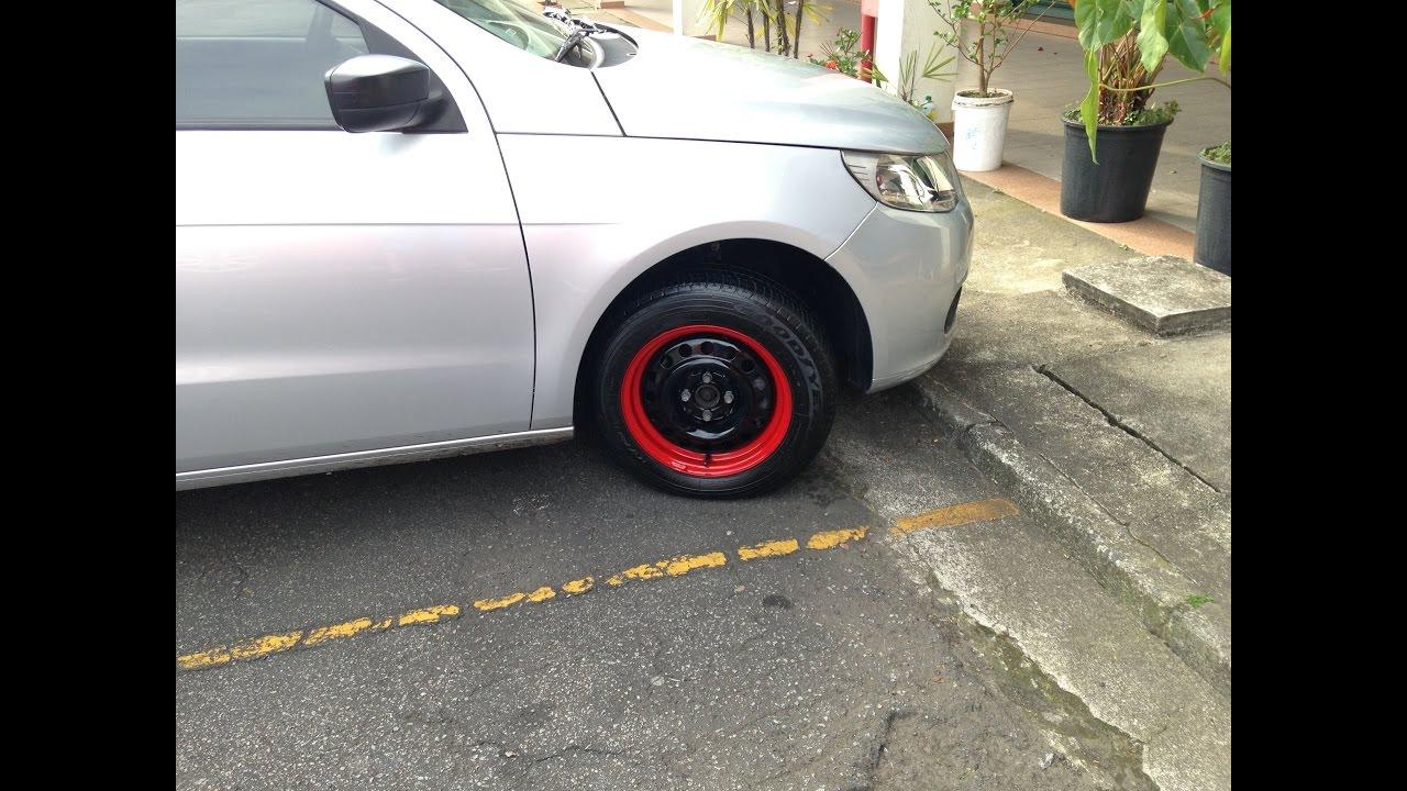 Como personalizar uma roda de ferro garage 95 youtube - Pneu 3 50 8 ...