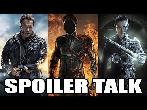 SPOILER TALK - Terminator Genisys (with BillyT800)