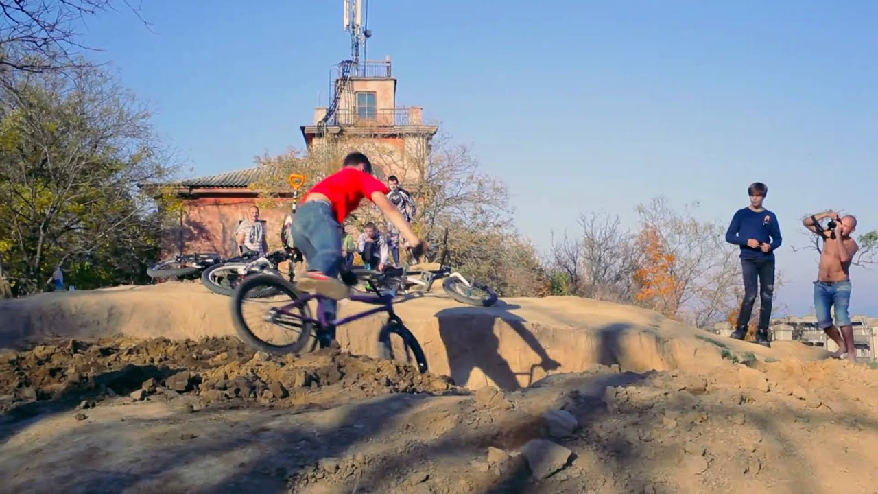 b7d673d14f8 MTB Backflip try and other BMX shit - YouTube