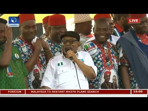 Anambra Election: APC Flags Off Governorship Campaign Pt.1