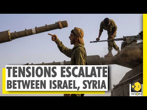 Israel-Syria Tensions | IDF Strikes Military Bases In Syria After Golan Heights Attack