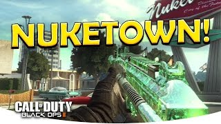 nuketown fun hardpoint w msmc call of duty black ops 2 live multiplayer gameplay