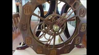 The Ultimate Wooden Gear Clock ?