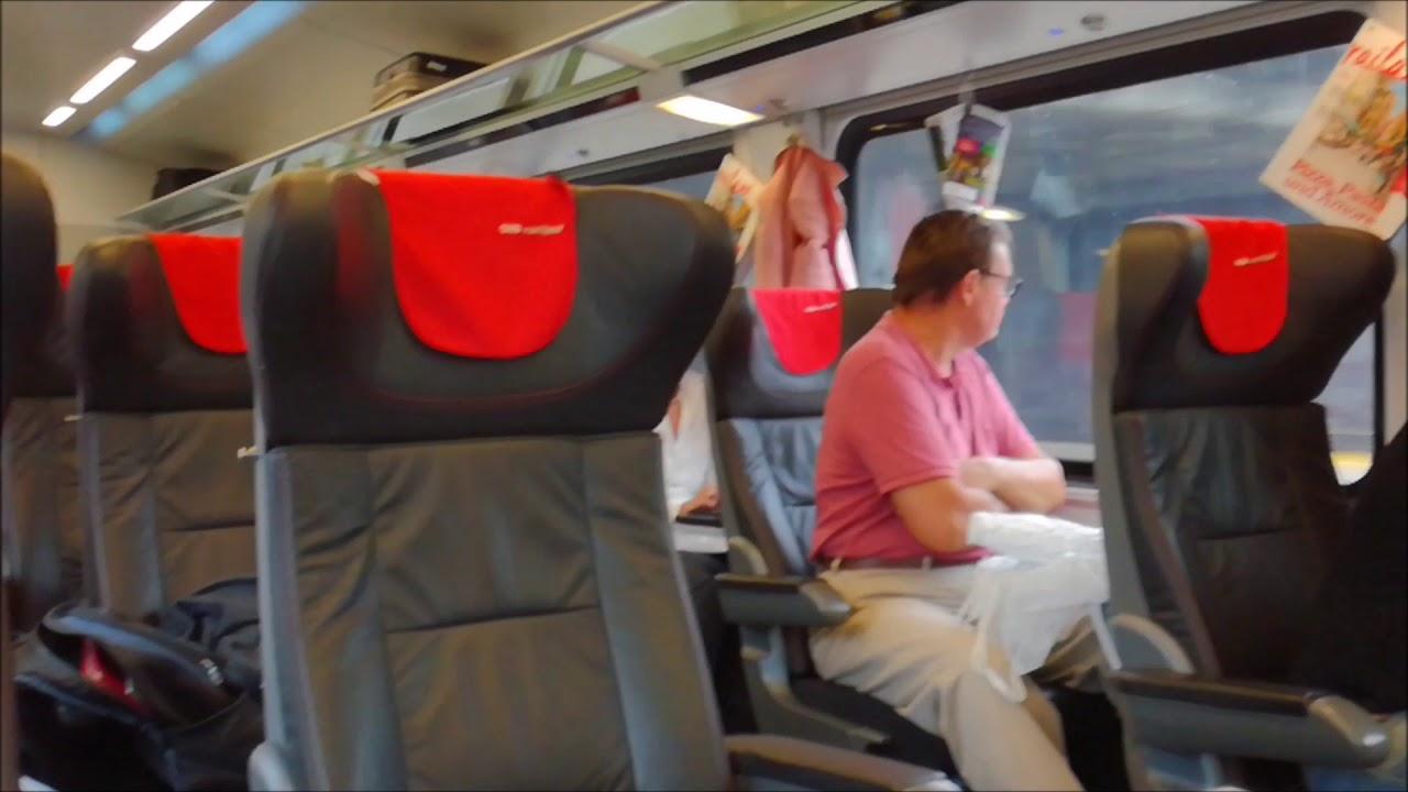 traveltrain from munchen hbf to budapest keleti with railjet train  28-07-2017.