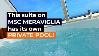 MSC Meraviglia Aurea Duplex Suite Tour
