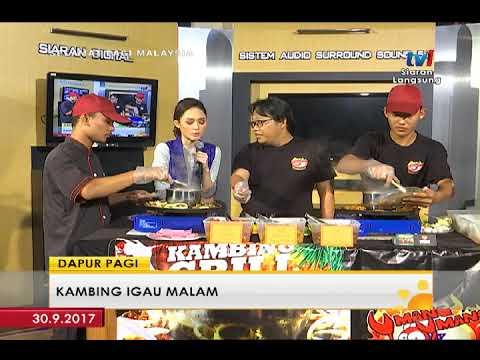 SPM 2017 - DAPUR PAGI: KAMBING IGAU MALAM [30 SEPT 2017]