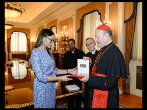 Mehriban Aliyeva Relationship between Azerbaijan and Vatican is long-term
