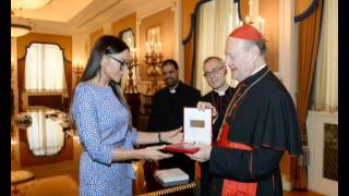Mehriban Aliyeva Relationship between Azerbaijan and Vatican is long-term