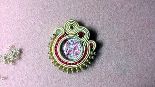 DIY - Soutache inserimento perline tra le piattine
