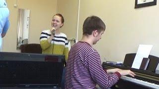Урок вокала. Диафрагмальный толчок. Импровизация.Характер. Tico Tico ч.5-я