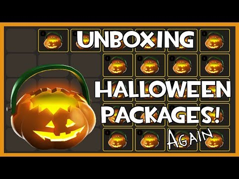 TF2 - Unboxing 22 Halloween Packages (2018)