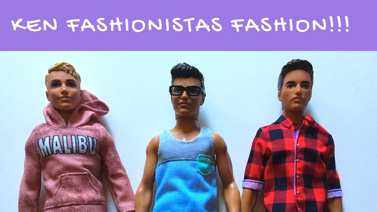 2018 Ken Fashionistas Doll and Fashion Toy Review - YouTube