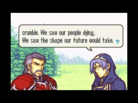 Fire Emblem: The Sacred Stones - Duessel & Knoll Support
