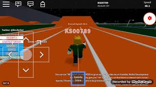 Run as fast as The Flash | Roblox Sprinting Simulator X