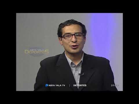 Entrevista en canal ABYA YALA deportes