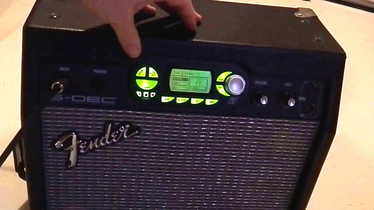 Fender G-DEC Amplifier Linux