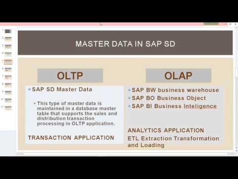 SAP SD MASTER DATA