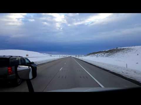 Bigrigtravels Live! - Evanston, Wyoming to Salt Lake City, Utah - Interstate 80 - February 16, 2017