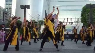 16-07-31 さいキョー(さいたま競演)よさこい さいたま市 大宮駅西口 鐘塚公園 特設ステージ.