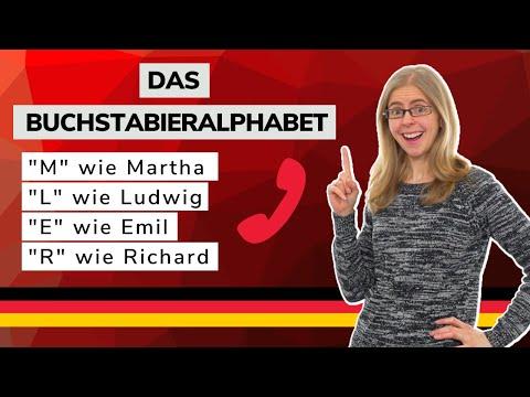 Day 324.1 - Das Buchstabieralphabet (The Spelling Alphabet) - B1 - German To Go
