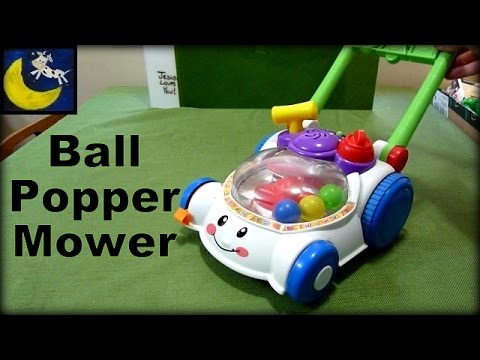 Fisher Price Laugh Learn Learning Lawn Mower Popper Review Youtube