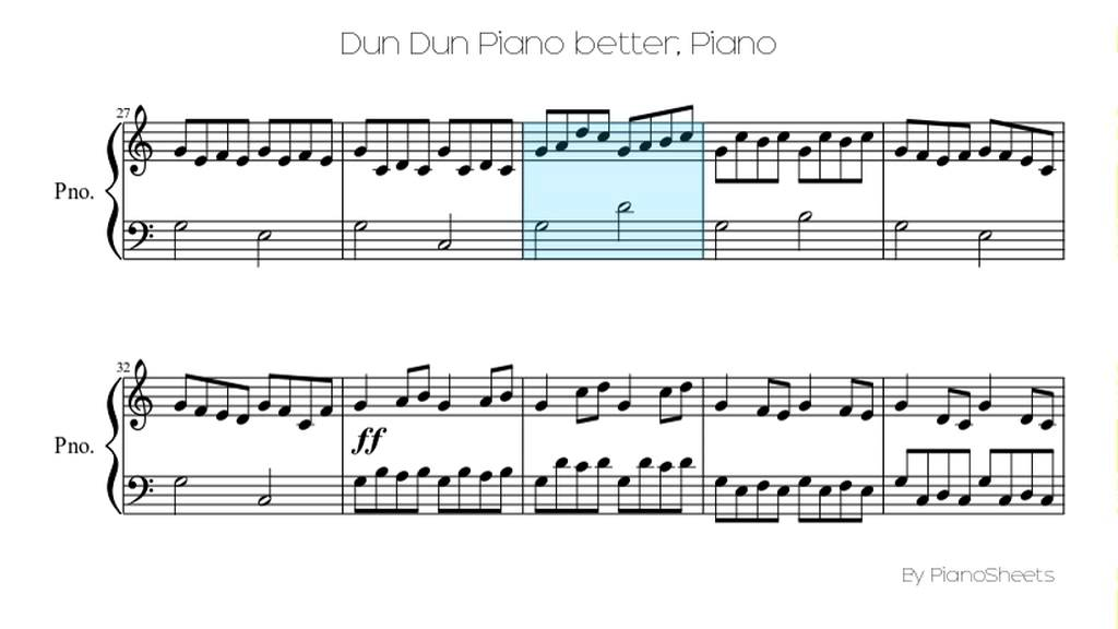 All Music Chords beethoven s 5th sheet music : Dun Dun Piano better [Piano Solo] - YouTube