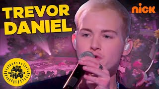"""Download Lagu Trevor Daniel Performs """"Falling"""" Live On All That 🎤 