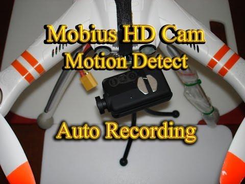 Mobius HD ActionCam - Motion Detect Auto Recording - Walkera QR X350
