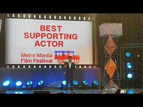 Edgar Allan Guzman wagi sa bading na role sa Deadma Walking at MMFF 2017 Awards Night