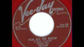 For All We Know - Sonny Til