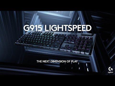 НОВЫЕ КЛАВИАТУРЫ Logitech G915 и Logitech G815!