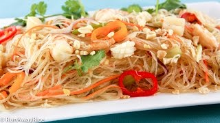 Glass Noodle Salad With Seafood (goi Mien Tron Hai San)