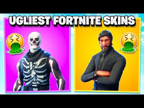 14 UGLY FORTNITE SKINS THAT PEOPLE USED TO LOVE!